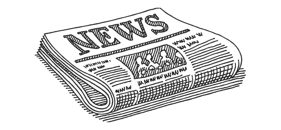 Картинки для раскраски газета